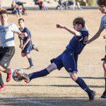 MS Boys Soccer A v North Pt 12 12 18