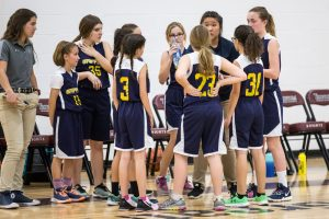MS Girls Basketball B2 v Trivium
