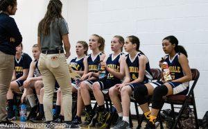MS Girls Basketball A v Trivium 3 6 19