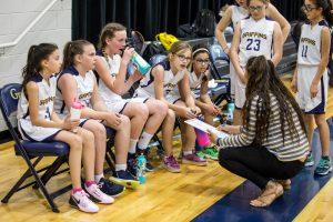 MS Girls Basketball B2 v North Phoenix 3 8 19