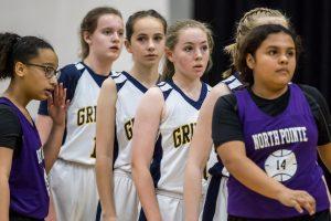 MS Girls Basketball A v North Pt 3 8 19