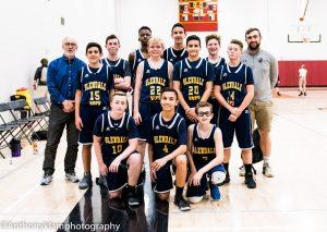 MS Boys Basketball A v North Phx 3 8 19