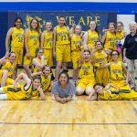 MS Girls Basketball B Blue + Gold v Anthem 3 27 19
