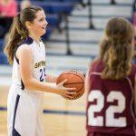 MS Girls Basketball B Blue v Trivium 4 3 19