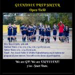 Summer Open Field – Soccer!!