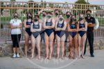 Swim team group picture