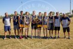 boys with team trophy