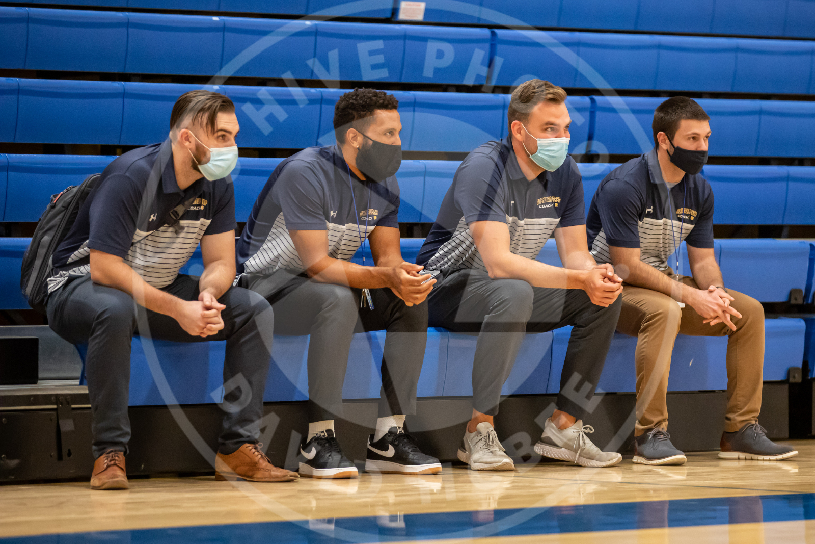 coaches watch game