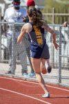 girl running race