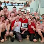 Bear River High School Coed Varsity Swimming finishes 1st place