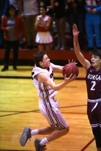 photo gallery: Boys Basketball v Morgan