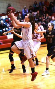 photo gallery: Girls Basketball v Logan