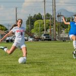 Bear River High School Girls Varsity Soccer beat Ben Lomond High School 5-3