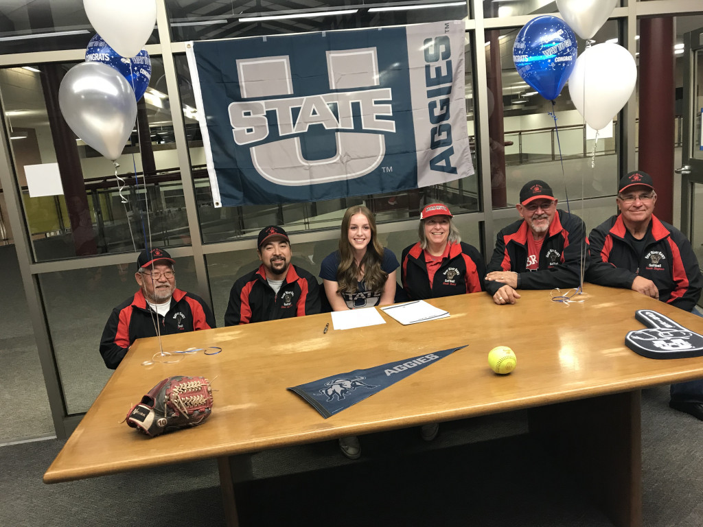 Softball Player Signs At USU