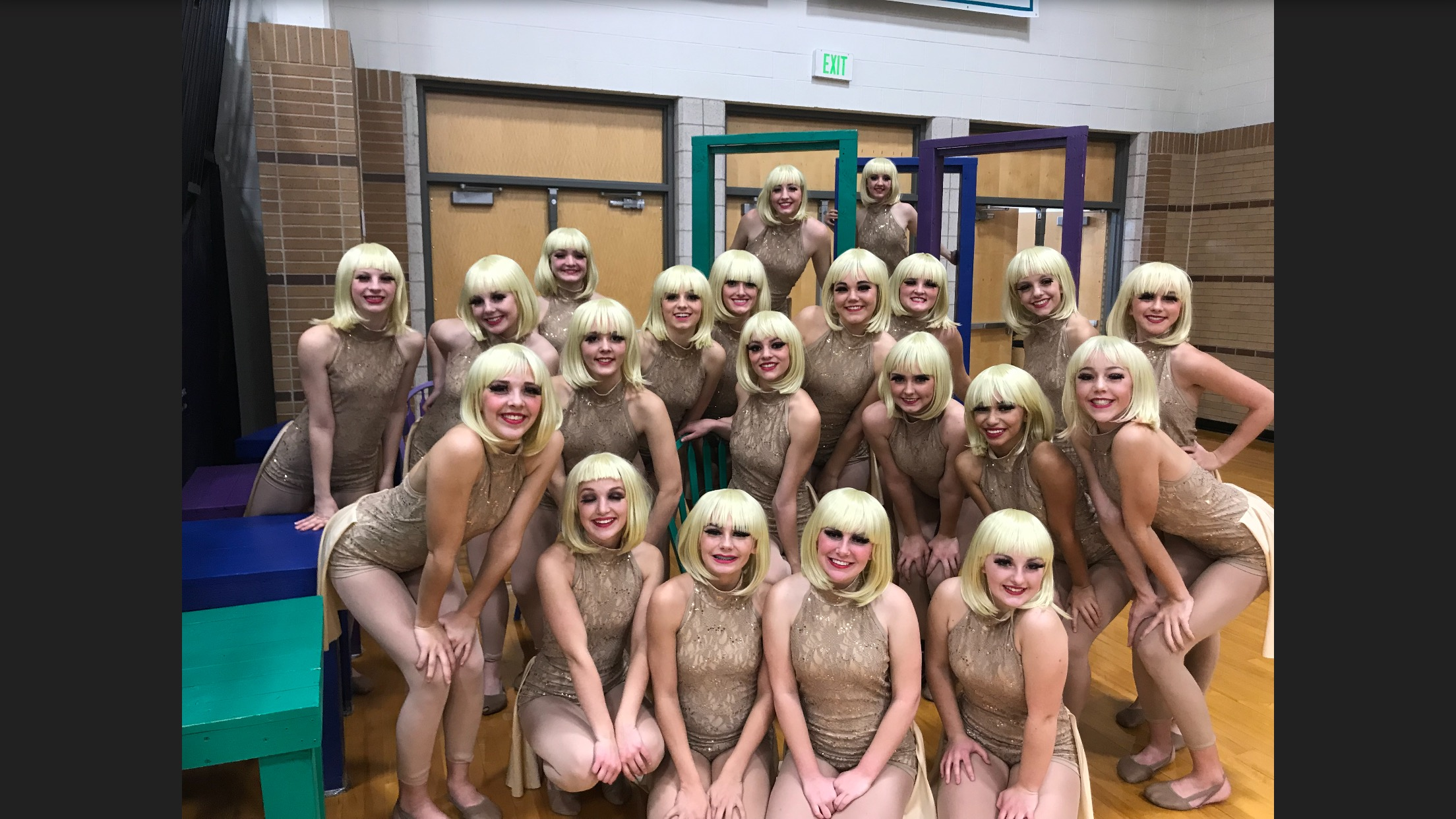 Hi-Steppers Have A Great First Competition!
