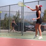 Lady Bears Tennis pull off 21 wins at Grantsville Round Robin Tournament