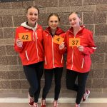 Arwynn Miner selected on All State Drill Team