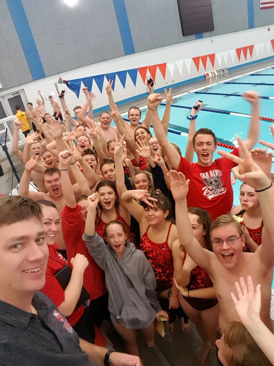Congratulations to Swim Team