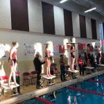 Swim Team gets victory on Senior night!