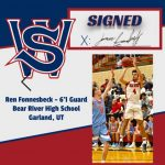 Ren Fonnesbeck is continuing on with his basketball career!