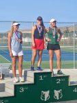 Girls Tennis, Erika Olsen, Region Champion!