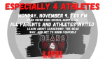 Bear River Athletes and Parents' Don't Miss Especially 4 Athletes Presentation