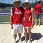 Christoval High School Coed Varsity Tennis finishes 4th place