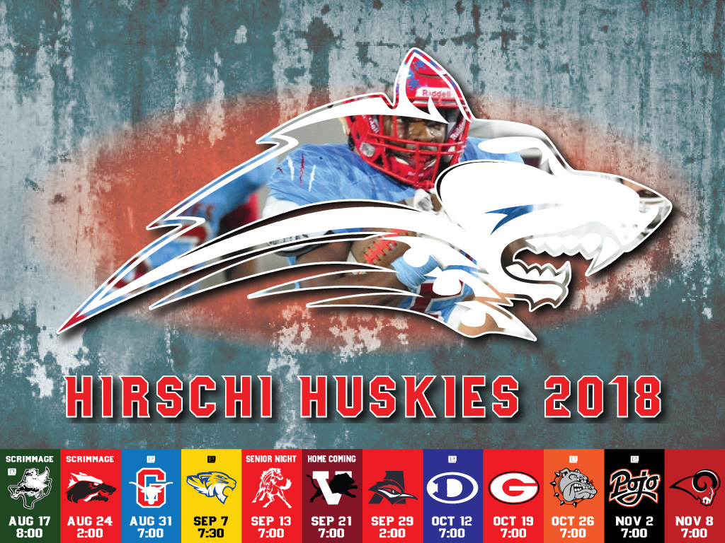 Hirschi Husky Football Schedule 2018