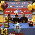 Javen Banks signs with Texas State Football