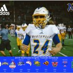 The 2019 Northwest Knights Football Schedule