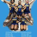 2019 Northwest Knights Fall Cheerleading Schedule