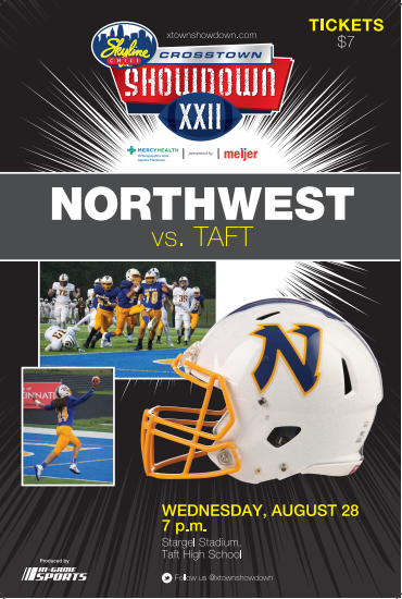 The Northwest Knights football game vs. Taft High School to be the first game in the state of Ohio for 2019