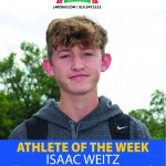 Isaac Weitz selected as the Larosa's Male Athlete of the Week!