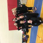 Muncie Central High School Girls Varsity Gymnastics finishes 3rd place