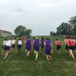 Muncie Central High School Boys Varsity Cross Country finishes 7th place