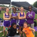 Muncie Central High School Girls Varsity Cross Country finishes 5th place