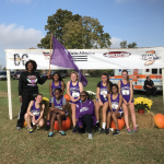 Muncie Central High School Girls Varsity Cross Country finishes 10th place