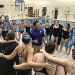 Muncie Central High School Boys Varsity Swimming beat Pendleton Heights High School 82-81