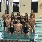 Muncie Central High School Boys Varsity Swimming finishes 4th place