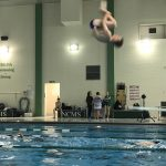 Muncie Central High School Boys Varsity Swimming beat New Castle High School 99-36