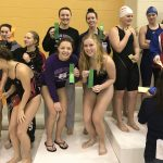 Muncie Central High School Girls Varsity Swimming finishes 5th place