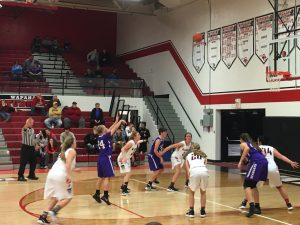 Muncie Central Girls Basketball vs Wapahani, December 18, 2017