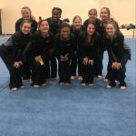 Varsity Gymnastics finishes 2nd place at Connersville