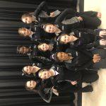 Varsity Gymnastics finishes 2nd place at New Palestine