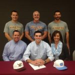 Evan Odum signs with UNC
