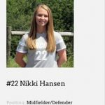 2016 Pirate Graduate and Student-Athlete Nikki Hansen Honored for Academics