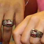 Parents Honor Girls Varsity Basketball Team with Rings