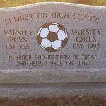 Soccer Brick Memorial Unveiling
