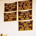 Just a Few of the Banners Hanging in the Gym