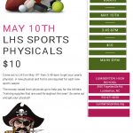 Physicals 5/10 at LHS (For Middle and High School Students)